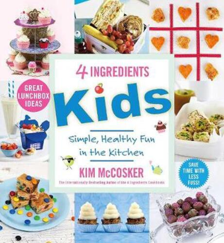 4 Ingredients Kids by Kim McCosker Paperback Book Free Shipping!