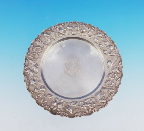 """Rose by Stieff Sterling Silver Bread and Butter Plate 7"""" Diameter #225 (#3521)"""