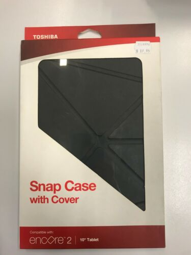 """Toashiba Snap Case with Cover 10"""" Tablet Black (Genuine)"""