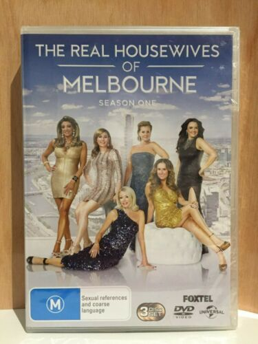 THE REAL HOUSEWIVES OF MELBOURNE ~ SEASON ONE 1 ~ PAL REGION 2/4 DVD ~ 594 MINS