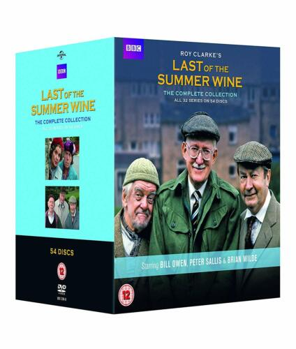 LAST OF THE SUMMER WINE COMPLETE SERIES COLLECTION 1-32 DVD BOX SET 54 DISC NEW