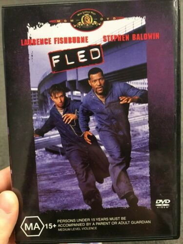 Fled region 4 DVD (1996 Laurence Fishburne action adventure movie)