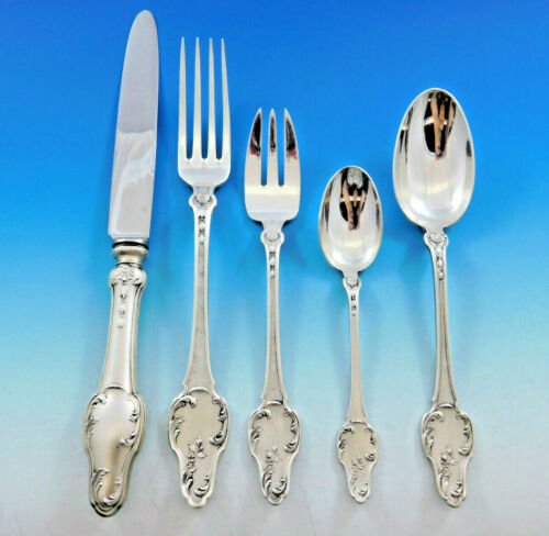 Palais Royale by Tetard Freres Sterling Silver Flatware Set Service 40 pc Dinner