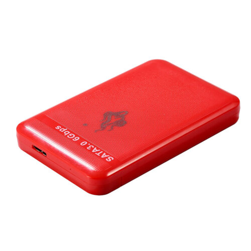 "USB3.0 2.5""  External Hard Data Picture Extension Drive Red Shockproof"