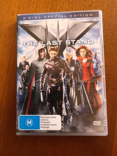 X-Men The Last Stand (M) DVD 2 Disc Special Edition Free Postage Oz Seller