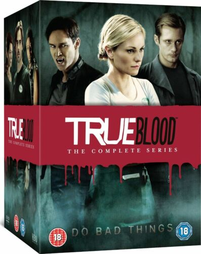 """TRUE BLOOD COMPLETE SERIES 1-7 COLLECTION DVD BOX SET 33 DISCS R4 """"NEW&SEALED"""""""
