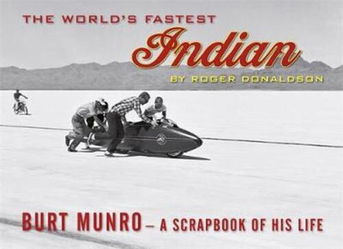 The World's Fastest Indian by Roger Donaldson Paperback Book Free Shipping!