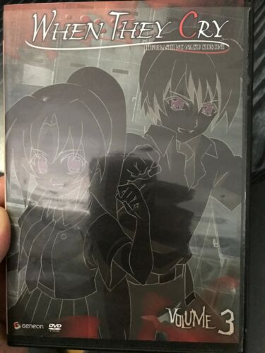 When They Cry Volume 3 region 1 DVD (anime)