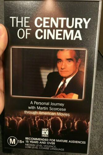 The Century Of Cinema Vol 1 - A Journey Through American Movies VHS VIDEO TAPE