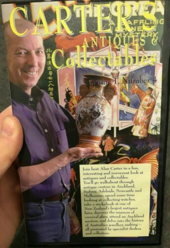 Carter's Antiques And Collectables Volume 1 Number 4 VHS VIDEO TAPE