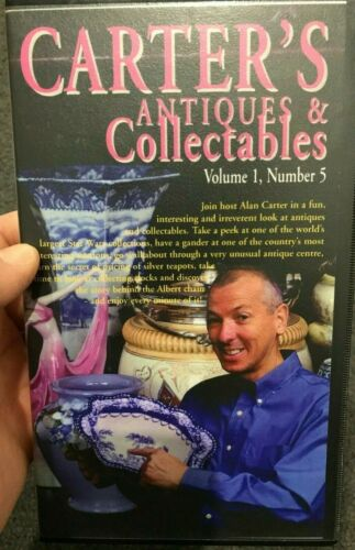 Carter's Antiques And Collectables Volume 1 Number 5 VHS VIDEO TAPE