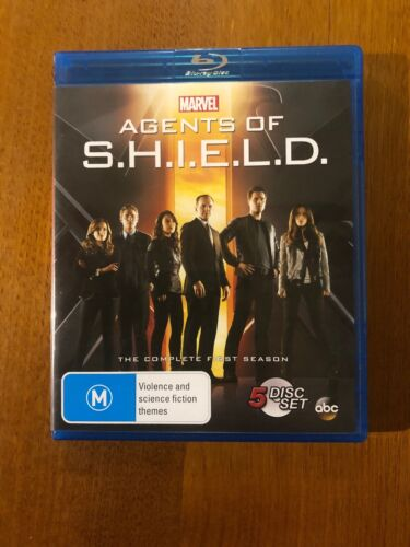 MARVEL Agents Of S.H.I.E.L.D (M) The Complete First Season Blu-Ray 5 Disc Set