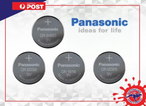 PANASONIC LITHIUM BATTERY TRAY PACKAGING CR2032 CR1616 CR2025 CR2450 CR1632 2016
