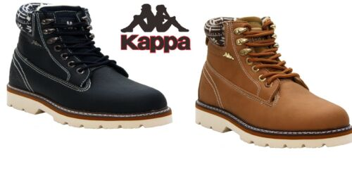 WOMENS LADIES KAPPA LACE UP LIGHTWEIGHT FUR LINING CASUAL ANKLE BOOTS SHOES SIZE