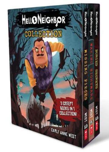 Hello Neighbor Collection by Carly Anne West Paperback Book Free Shipping!