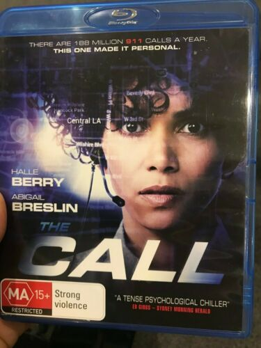 The Call BLU RAY (2013 Halle Berry / Abigail Breslin thriller movie)