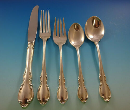 Legato by Towle Sterling Silver Flatware Service For 8 Set 40 Pieces