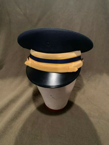 US Army Military Police MP Enlisted Service Dress Whites Hat Cap 7 3//4  62
