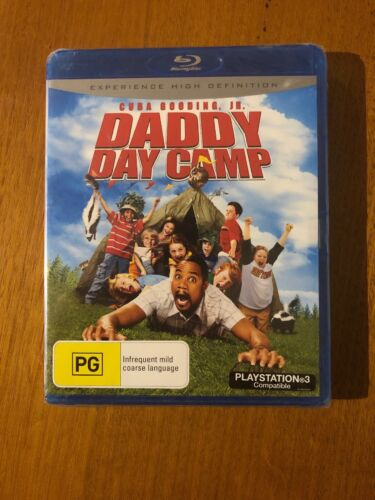 Daddy Day Camp (PG) Blu-Ray Brand New Sealed Free Postage Oz Seller
