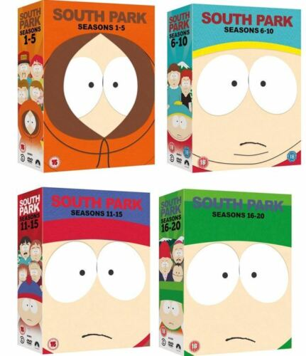 "SOUTH PARK COMPLETE SEASON 1-20 COLLECTION DVD BOX SET 56 DISCS R4 ""NEW&SEALED"""