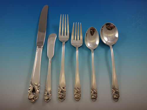 Spring Glory by International Sterling Silver Flatware Set for 96 Service 623 pc