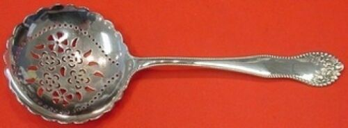 """Lancaster by Gorham Sterling Silver Pea Spoon 8 5/8"""" Pierced"""