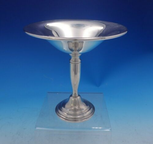 "Old French by Unknown Sterling Silver Compote 6 1/8"" x 6 1/8"" Weighted (#3978)"