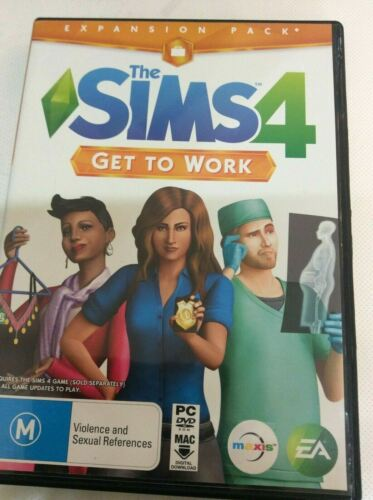 EA Games The Sims 4 Get To Work - PC Game