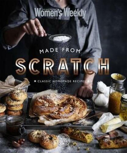 Made from Scratch by The Australian Women's Weekly Hardcover Book Free Shipping!