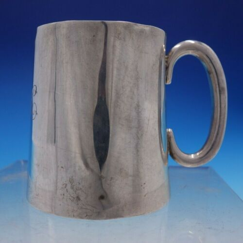 Vintage Estate English Silver Child's Cup from Birmingham Dated 1914 (#4243)