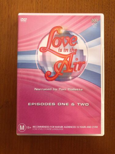 ABC Love Is In The Air (M) DVD Pal Like New Free Postage Oz Seller