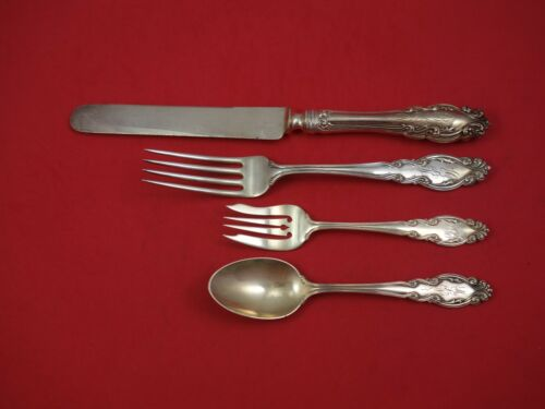 Gothic by Dominick and Haff Sterling Silver Dinner Size Place Setting(s) 4pc