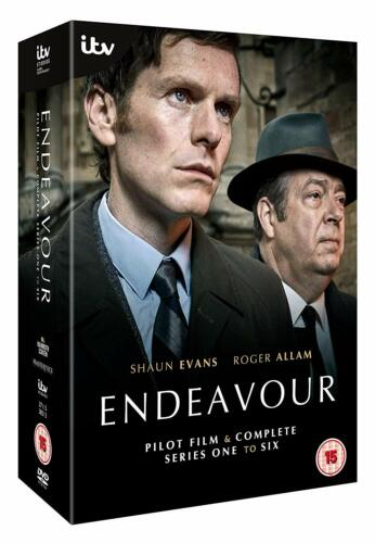 """ENDEAVOUR COMPLETE SERIES COLLECTION 1-6 BOX SET 14 DISCS R4 """"NEW&SEALED"""""""