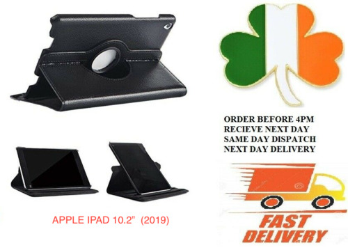 IPad 10.2 inch Smart Case new Apple 7th / 8th  Generation  Leather Stand Cover