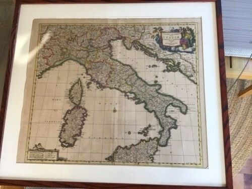 17th Century Italy Map - Federic de Wit