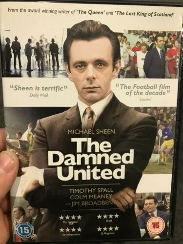The Damned United region 2 DVD (2009 Michael Sheen sports / soccer drama movie)