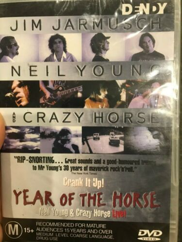 Year Of The Horse NEW/sealed region 4 DVD (1997 Neil Young documentary movie)