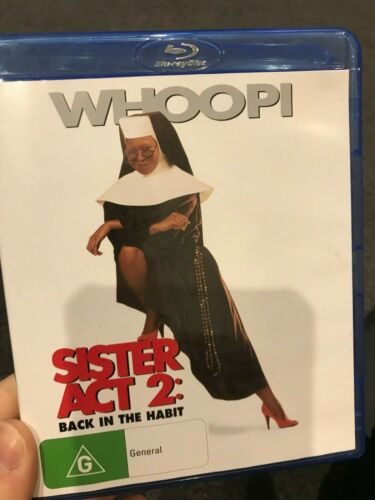 Sister Act 2 - Back In The Habit BLU RAY (1993 Whoopi Goldberg comedy movie)