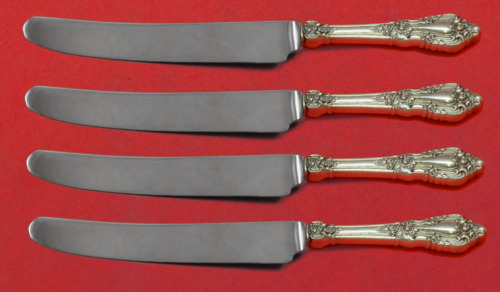 "Eloquence by Lunt Sterling Silver Fruit Knife Set 4pc Custom Made 7"" HHWS"