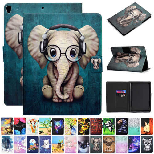 "For Samsung Galaxy Tab 10.1"" SM-T510 T515 2019 Pattern Leather Stand Case Cover"