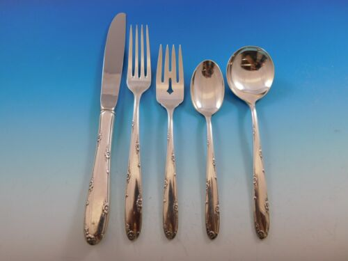 Madeira by Towle Sterling Silver Flatware Set for 12 Service 75 Pieces