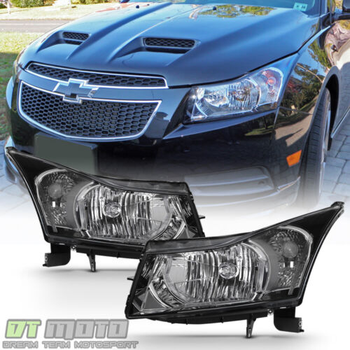 2011 2012 2013 2014 2015 Chevy Cruze Headlights Headlamps Replacement Left+Right <br/> $Back guarentee,Lowest Price Best quality,FREEship 2way