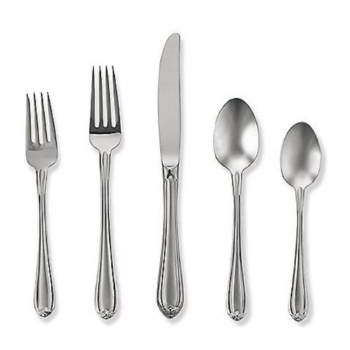 Melon Bud Frosted by Gorham Stainless Steel Flatware Set Service 12 New 65 pc