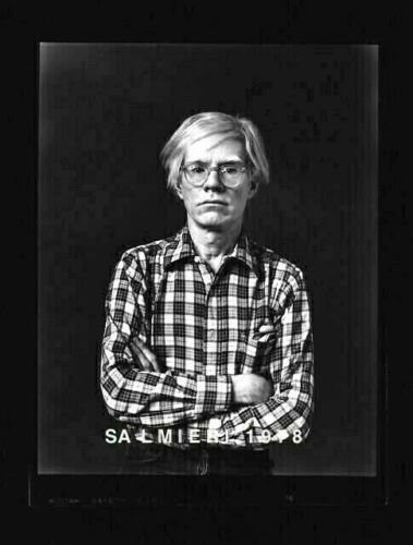 """ANDY WARHOL PHOTO 4X5"""" DKRM CONTACT PRINT VINTAGE SIGNED ORIG 1977"""