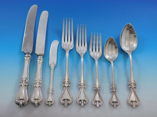 Old Colonial by Towle Sterling Silver Flatware Set for 8 Service 70 pcs Dinner