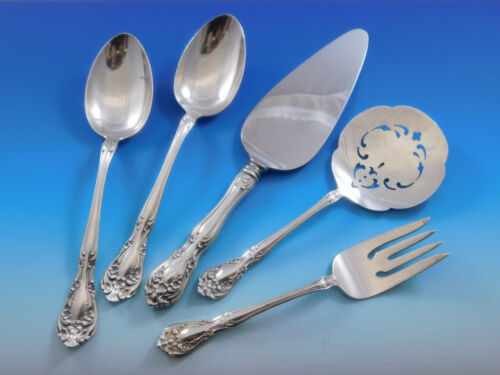 Chateau Rose by Alvin Sterling Silver Essential Serving Set Large Hostess 5piece