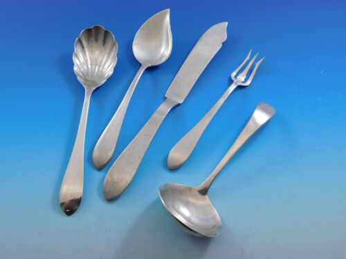 Pointed Antique by R&B / D&H Sterling Silver Essential Serving Set Small 5-piece