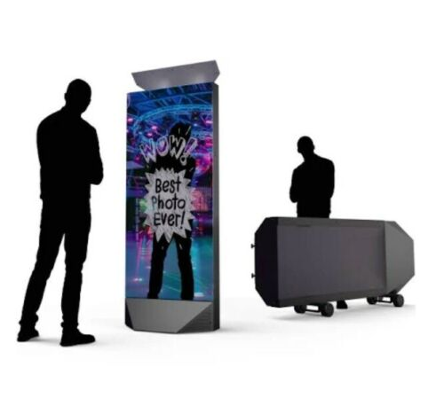 ASTOUNDING 72 inch TOWER MIRROR PHOTO BOOTH! YOUR NEXT NEW BUSINESS