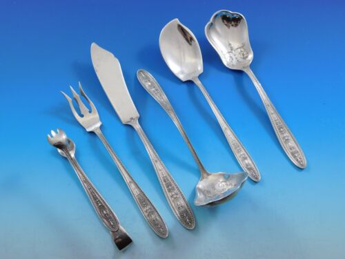 Wedgwood by International Sterling Silver Essential Serving Set Small 6-piece