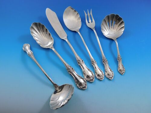 Wild Rose by International Sterling Silver Essential Serving Set Small 6-piece